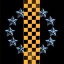 Checkerboard Starfield - the Movie