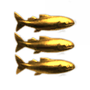 Shiny Shiny Golden Fishy Fish