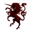 Light Red Unicorns