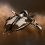 LinuxThePinguin's Amarr Shuttle exploded in M-OEE8 due to excessive weapons fire from JONI ADAMA