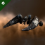 Appius Caedius's Imperial Navy Slicer exploded in Auga due to excessive weapons fire from Currently Running Away