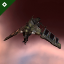 Tilburn's Republic Fleet Firetail exploded in Kourmonen due to excessive weapons fire from Babby Formed