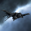 Eva Dou's Raven exploded in J143639 due to excessive weapons fire from Krops Vont