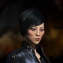 Lya's portrait
