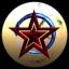 Sparkling Red Star