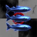 Fisch Bombenflugzeug