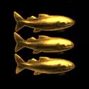 Shiny Shiny Golden Fishy Fish