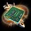 Charred Micro Circuit